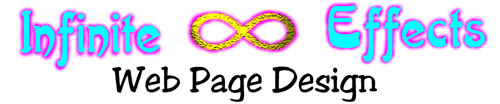 Infinite Effects Web Page Creation Banner